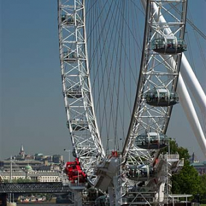 Londyńskie oko- London Eye
