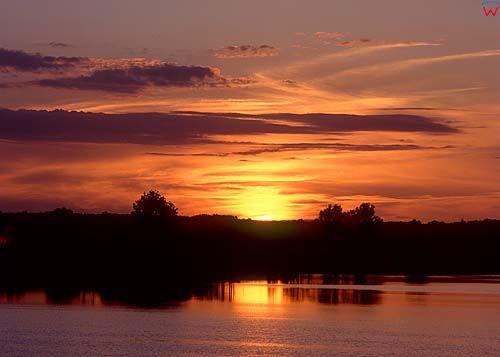 Jezioro wielochowo warm-maz