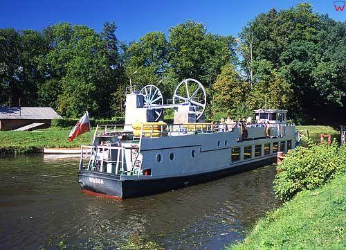 kanał Ostródzko Elbląski - pochylnia Buczyniec
