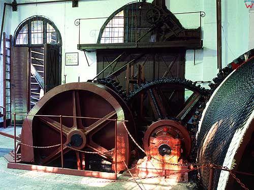 Maszynownia kanału Ostródzko - Elbląskiego, pochylnia Buczyniec