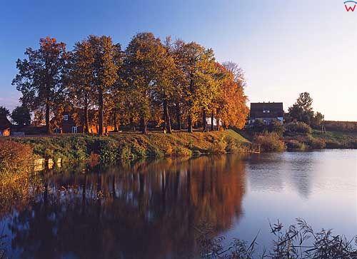 Jesień, okolica Jezioran