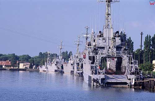 Port wojenny w Świnoujściu