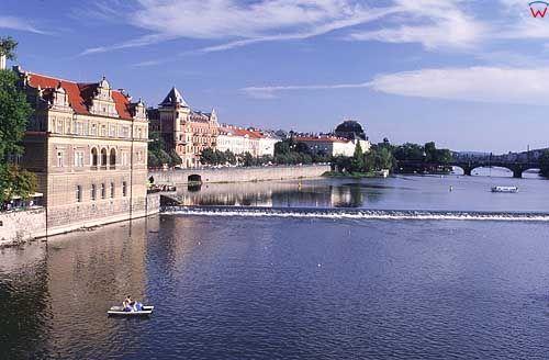 Praga, rzeka Wełtawa