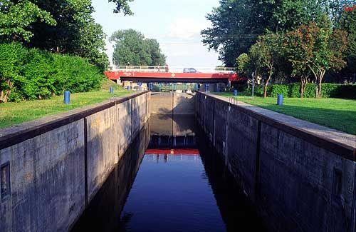 Augustów. Kanał Augustowski