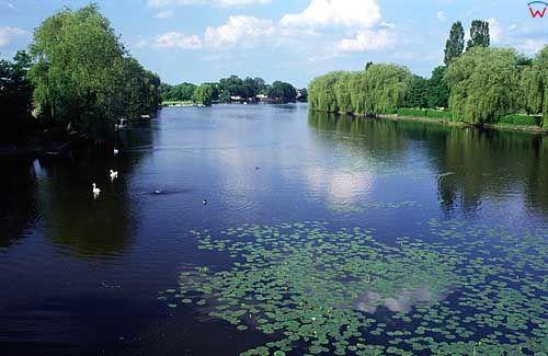 Augustów. Kanał w Augustowie
