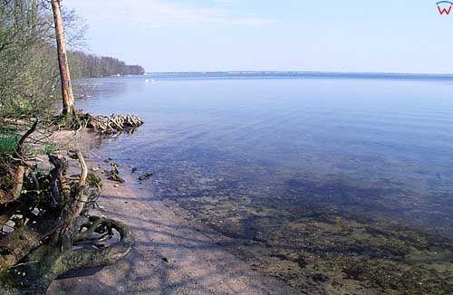 Jezioro Żarnowieckie pomorskie