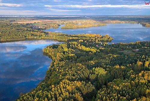 LOTNICZE. Warm-Maz, jezioro Wulpinskie.