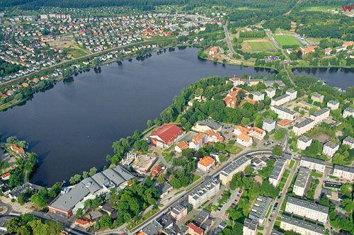 LOTNICZE. PL-Warm-Maz. Ilawa jezioro Jeziorak Maly.
