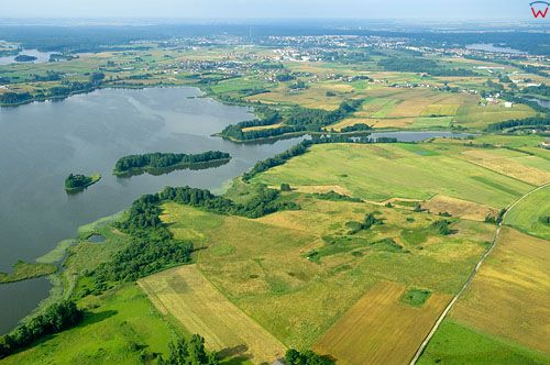 LOTNICZE. PL-Warm-Maz. jezioro Labedz.