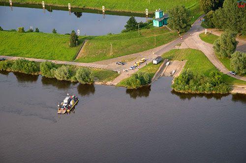 Lotnicze, PL, Pomorskie, przeprawa promowa przez Wisle w Kwidzyniu.