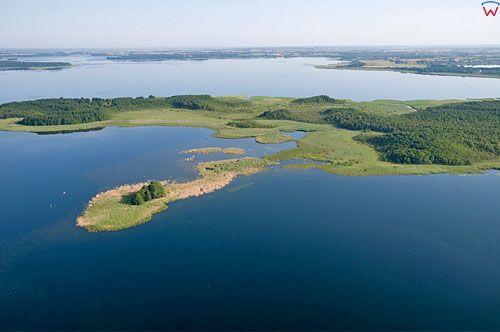 Lotnicze, PL, Warm-Maz. Jezioro Kirsajty.