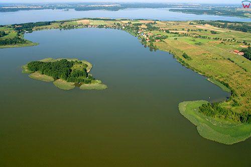 Lotnicze, PL, Warm-Maz. Jezioro Swiecajty.
