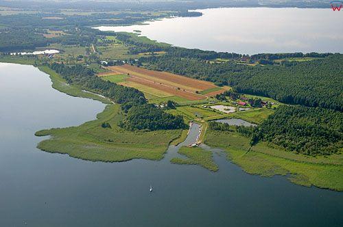 Lotnicze, PL, Warm-Maz. Jezioro Mamry i Dargin.