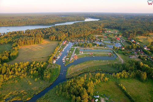 LOTNICZE, Polska, warm-maz. Port Wygryny nad jeziorem Beldany.