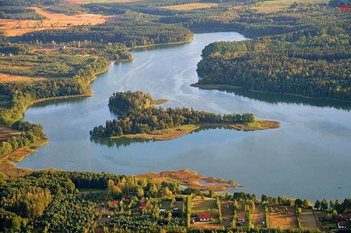 Lotnicze, Polska, warm-maz. Jezioro Mielno.