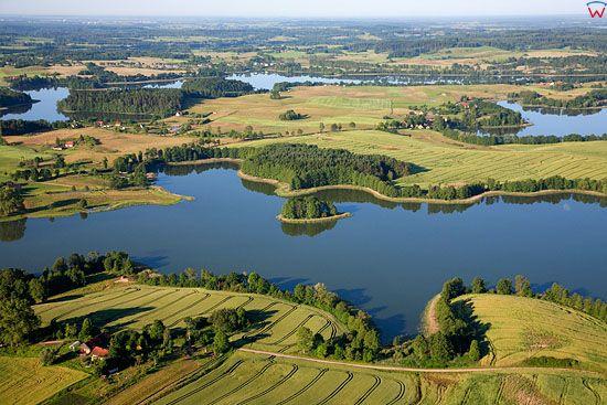 LOTNICZE, Pojezierze Mazurskie (Elckie). Jezioro Zajdy, Kukowino i Dudeckie.