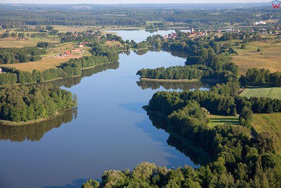 LOTNICZE, Pojezierze Mazurskie (Elckie). Jezioro Dworackie.