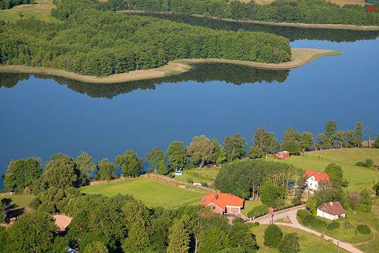 LOTNICZE, Pojezierze Mazurskie (Elckie). Jezioro Krzywe.