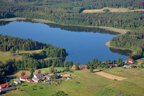 LOTNICZE, Pojezierze Mazurskie (Elckie). Jezioro Sawinda Mala.