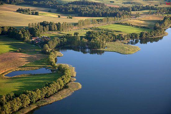 Lotnicze, Pojezierze Mazurskie (Elckie). Jezioro Przytulskie.