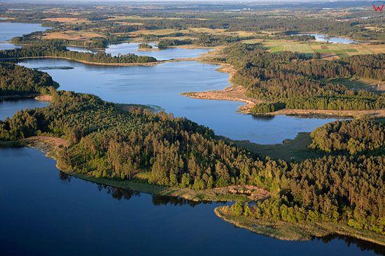 Lotnicze, warm-maz, Pojezierze Mazurskie (Elckie). Jezioro Orzysz.