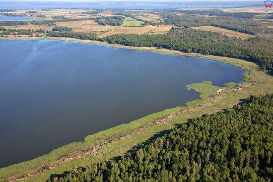 Lotnicze, Pl, warm-maz. Pojezierze Mazurskie, jezioro Kociol.
