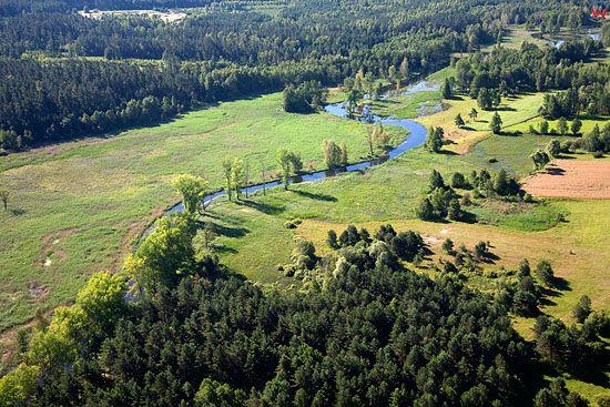 Lotnicze, Pl, warm-maz. Rzeka Elk.