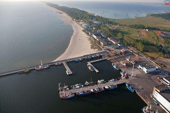 Lotnicze, Pl, Pomorskie. Port we Wladyslawowie.
