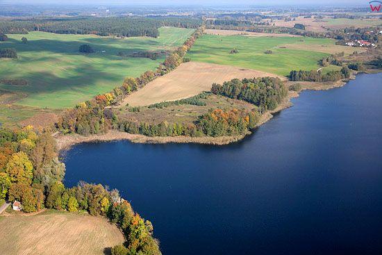 Lotnicze. Pl, warm - maz. Jezioro Orlo.