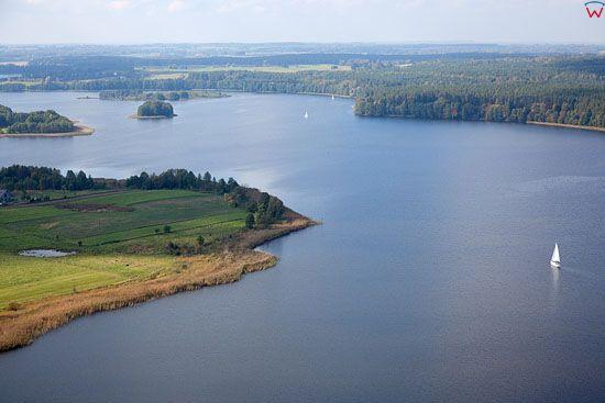 Lotnicze. Pl, warm - maz. Jezioro Rynskie.
