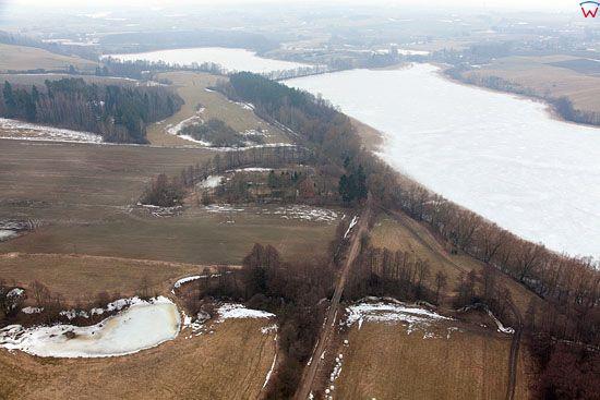 Pl, warminsko-mazurskie, Lotnicze. Jezioro Salet.