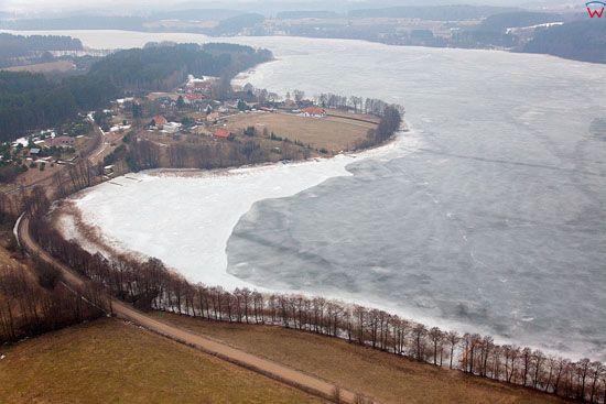 Pl, warminsko-mazurskie, Lotnicze. Jezioro Juksty.
