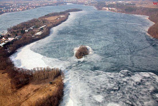 Pl, warminsko-mazurskie, Lotnicze. Jezioro Czos.