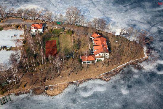 Pl, warminsko-mazurskie, Lotnicze. Jezioro Juno.