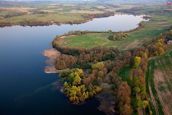 Lotnicze, PL, warm-maz. Jezioro Mildzkie.
