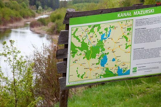 Pl, warm-maz. Kanal Mazurski. Odcinek Guja.