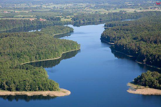 Lotnicze. PL, warm-maz. Jezioro Narie.