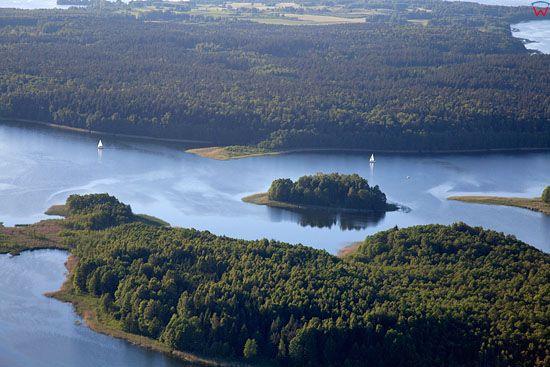 Lotnicze, EU, PL, Warm-Maz. Jezioro Kisajno.