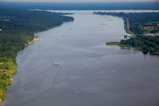 Lotnicze, EU, PL, mazowieckie. Jezioro Zegrzynskie.