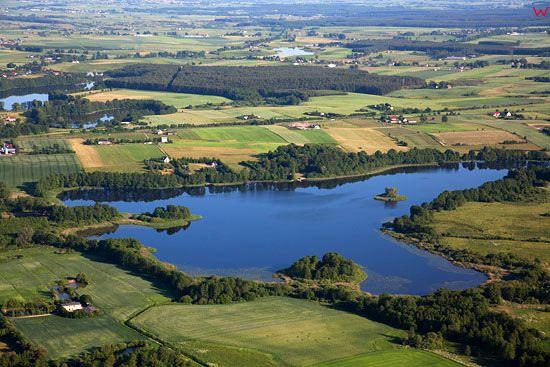 Lotnicze, EU, PL, warm-maz. Jezioro Labedz.