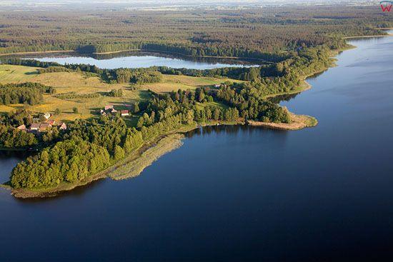 Lotnicze, EU, PL, warm-maz. Jezioro Gil Wielki.