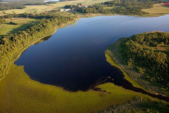 Lotnicze, EU, PL, warm-maz. Jezioro Jeziomno.