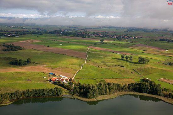 Lotnicze, EU, PL, warm - maz. Jezioro Nawiady.