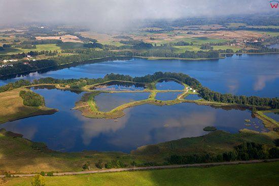 Lotnicze, EU, PL, warm - maz. Jezioro Gieladzkie.