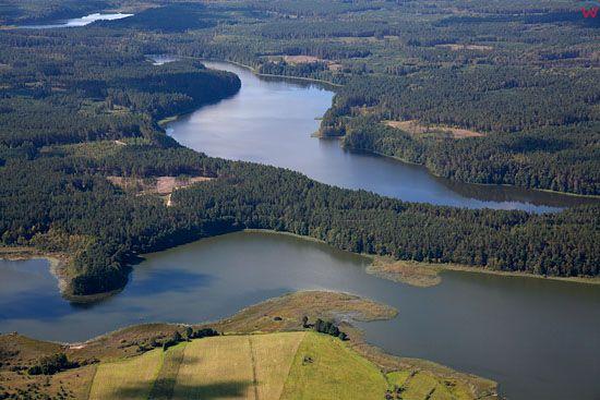 Lotnicze, EU, PL, warm - maz. Jezioro Biale i Gant.