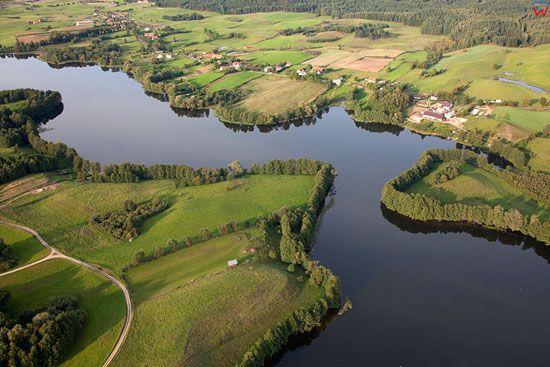 Lotnicze, EU, PL, warm - maz. Jezioro Krzywe.