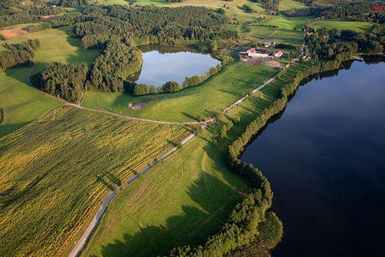 Lotnicze, EU, PL, warm - maz. Jezioro Wagiel.