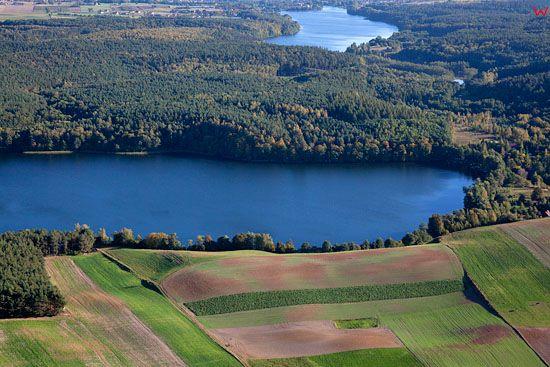 Lotnicze, EU, PL, Kujawsko - Pomorskie. Pojezierze Chełminskie. Jezioro Wysokie Brodno.