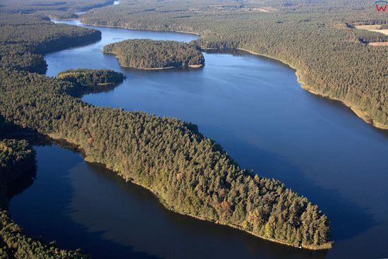 Lotnicze, EU, PL, Kujawsko - Pomorskie. Pojezierze Chełminskie. Jezioro Sosno.