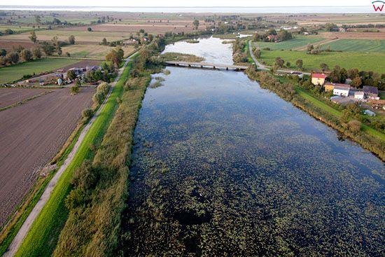 Lotnicze, EU, PL, warm-maz. Zulawy Wislane - Kanal Cieplicowka.